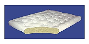 Cotton Futon Mattress Size: King