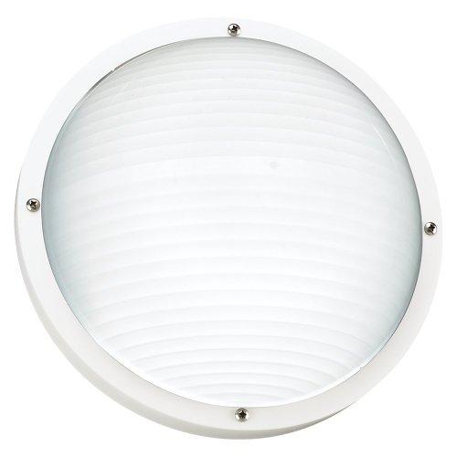 Sea Gull Lighting 83057-15 Bayside Outdoor Wall Lantern, White