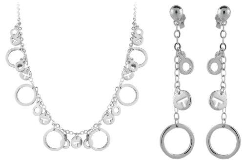 Sterling Silver Fashion Set