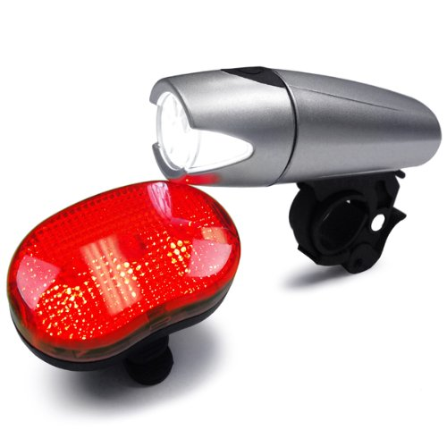 KNOG FROG Strobe Single RED LED Bike Rear Light White Silicone 2.5 Lumens NEW