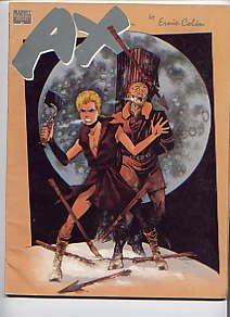 Ax: The graphic novel (Marvel graphic novel), Ernie Colón