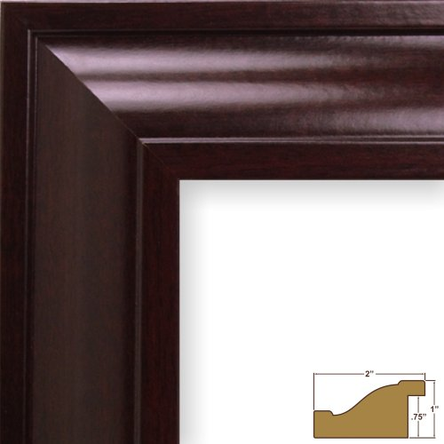 Craig Frames 76047 12 by 15 Inch Picture Frame Smooth Wood ...