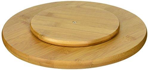 Lipper International 8301 Bamboo 10 Inch Single Turntable