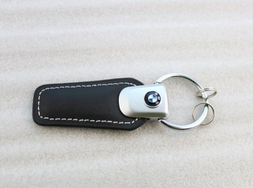 bmw-logo-black-genuine-leather-strap-keychain-ring
