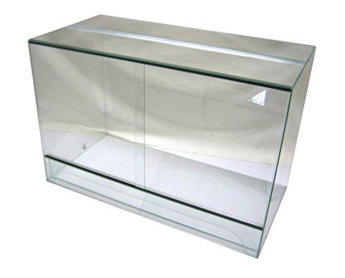 FP Terrarium 120x60x60 cm mit Schiebetür, Glasterrarium, Schlangen Bartagamen Gekkos