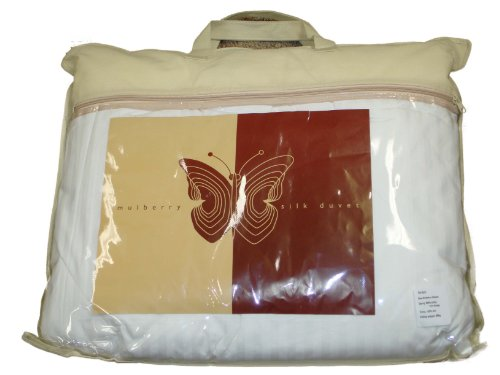 Mulberry Silk All Season Weight Comforter, California King
