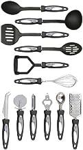 Premier Housewares Stainless Steel Tool Set, 12-Piece