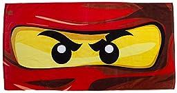 Lego Ninjago Eyes Beach Towel