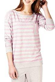 Limited Collection Cotton Rich Striped Pyjama Top [T37-2468-S]