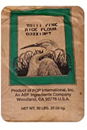 Fine Pacific Rice Flour - 50 Pound Bag
