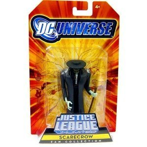 DC Universe Justice League Unlimited Exclusive Action Figure Scarecrow - 1