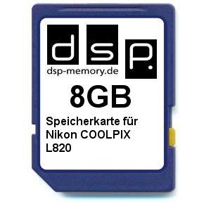 dsp-memory-z-select-4051557403208-8-gb-scheda-di-memoria-per-nikon-coolpix-l820