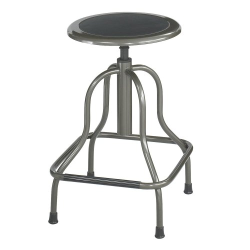Diesel Backless Industrial Stool Size: High, Back: Not Included front-848393