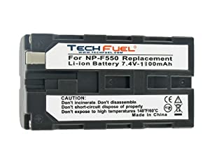 Sony HDR-FX1E Camcorder Replacement Battery - Professional Quality TechFuel Li-ion Battery