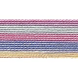Bulk Buy: Aunt Lydia's Crochet Cotton Classic Crochet Thread Size 10 (3-Pack) Pastels 154-465