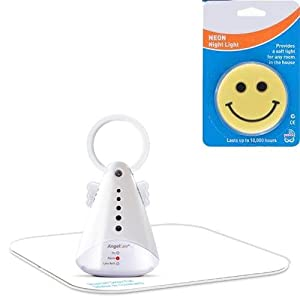 Angelcare AC300 New Model Baby Movement Monitor with Night Light- White