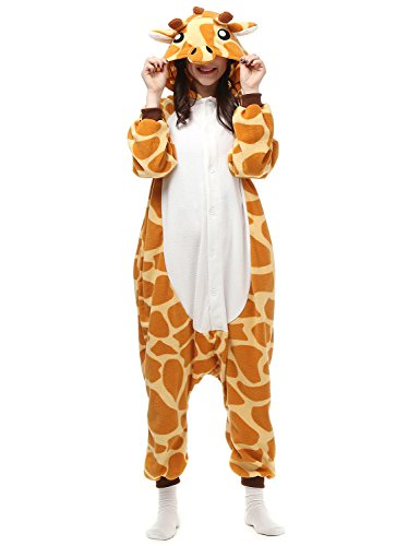 Belle House Giraffe Animal Cosplay Onesie Adult Sleepsuit Kigurumi Costume AC057 (Cosplay House compare prices)