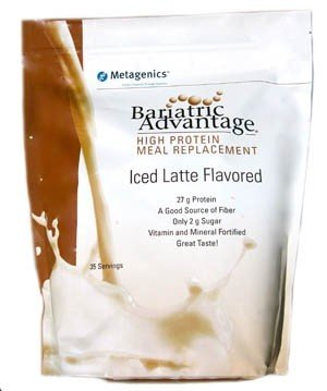 Bariatric Advantage High Protein Meal Replacement Iced Latte 35 servings