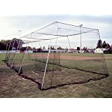 Cages Plus Batting Cage Kit 50' #21 Knotted Nylon with L Screen by Cages Plus