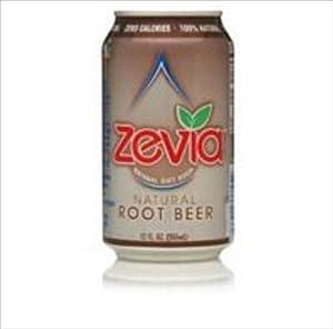Zevia Natural Root Beer Diet Soda ( 4x6/12 OZ)