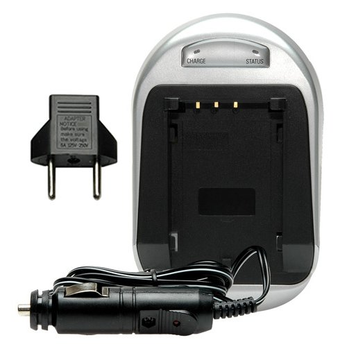 Power2000 RTC-171 Mini Battery Charger for Canon NB-4L & NB-6L (Cannon Camera Car Charger compare prices)