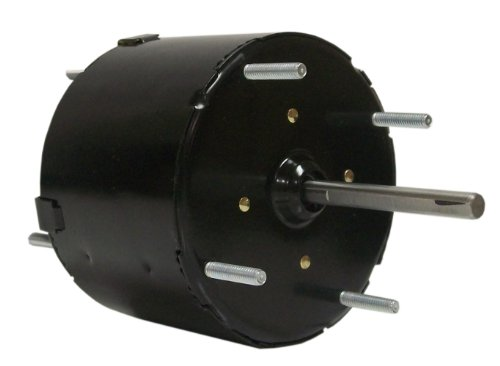 Fasco D124 3.3-Inch General Purpose Motor, 1/50 Hp, 115 Volts, 1500 Rpm, 1 Speed, .75 Amps, Totally Enclosed, Cwse Rotation, Sleeve Bearing