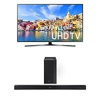 Samsung UN55KU7000 55-Inch TV with HW-K450 Soundbar