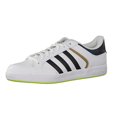 adidas Varial Low, Low-Top Sneaker uomo, Bianco (Bianco/Nero), 41 1/3