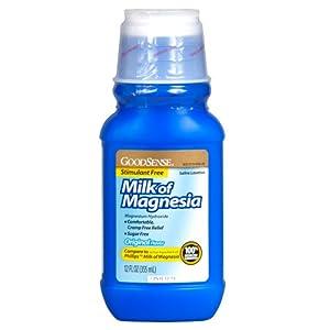 Amazon com goodsense milk of magnesia saline laxative original 12