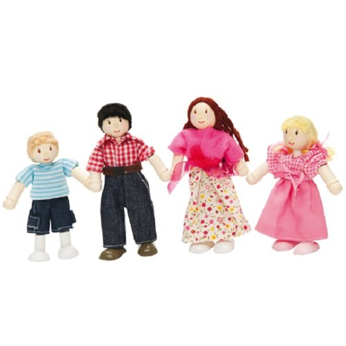 Le Toy Van My Family Set of 4 Budkin Figures