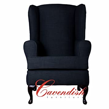"LUXURY ORTHOPEDIC HIGH SEAT CHAIR in CHARCOAL FABRIC 21"" or 19"" Seat Height (21"" Seat Height)"