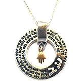 72 Names of God Kabbalah Silver Necklace