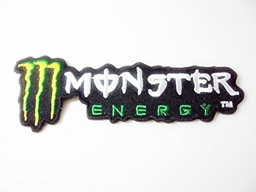 Rockstar Energy ME L Motocross Racing Iron On Patch (Automotive Iron On Patches compare prices)