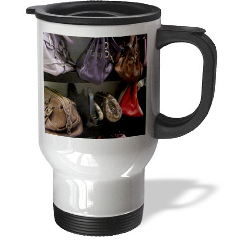 Tm_174290_1 Florene - Décor Ii - Image Of Handbags On Shelf In Boca Raton Florida - Travel Mug - 14Oz Stainless Steel Travel Mug front-390325