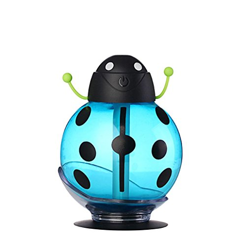 Laimeng,Beatles Home Aroma LED Humidifier Air Diffuser Purifier Atomizer (Blue)