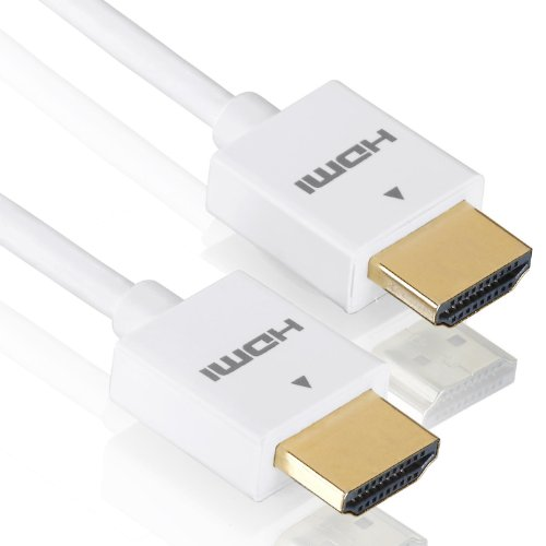 deleyCON 1,5m HDMI Kabel   SLIM   High Speed mit Ethernet (Neuster Standard)   3D   4K ULTRA HD   SUPER flexibel