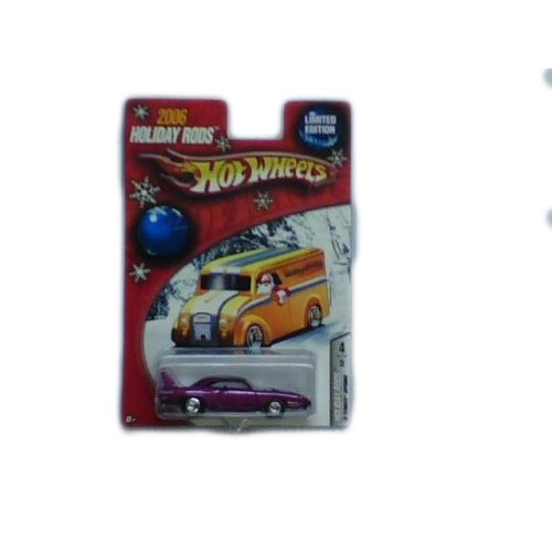 Hot Wheels 2006 Holiday Rods Limited Edition '70 Plymouth Superbird Magenta - 1