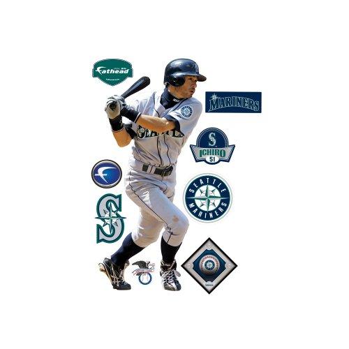 Awesome Fathead Ichiro Suzuki Seattle Mariners Wall Decal