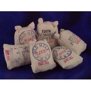 Dollhouse Food Sacks, 6/pk - 1