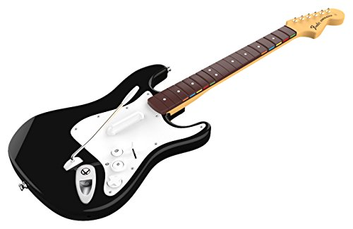 Rock Band 4 Wireless Fender Stratocaster Guitar Controller for Xbox One - Black (Fender Stratocaster Xbox compare prices)