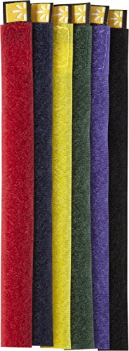 case-logic-ct-6-self-attaching-cable-ties-assorted-colors