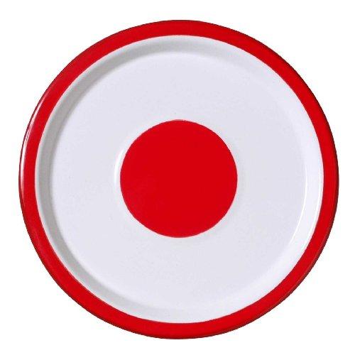VARIOPINTE 14166 - Tabla de queso, color rojo