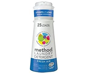 Method Laundry Detergent Fresh Air, 25 Loads