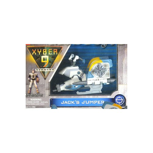 Xyber 9 Jack's Jumper Vehicle with Jack Action Figure - 1
