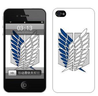 進撃の巨人 iphone4/4S ケース エレン リヴァイ ミカサ 調査兵団