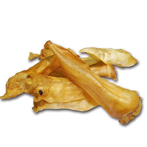 Artikelbild: DOGREFORM Getrocknete Lamm Ohren ein unwiderstehliches Aroma, sind besonders gut bekömmlich und weniger fettreich als Schweineohren
