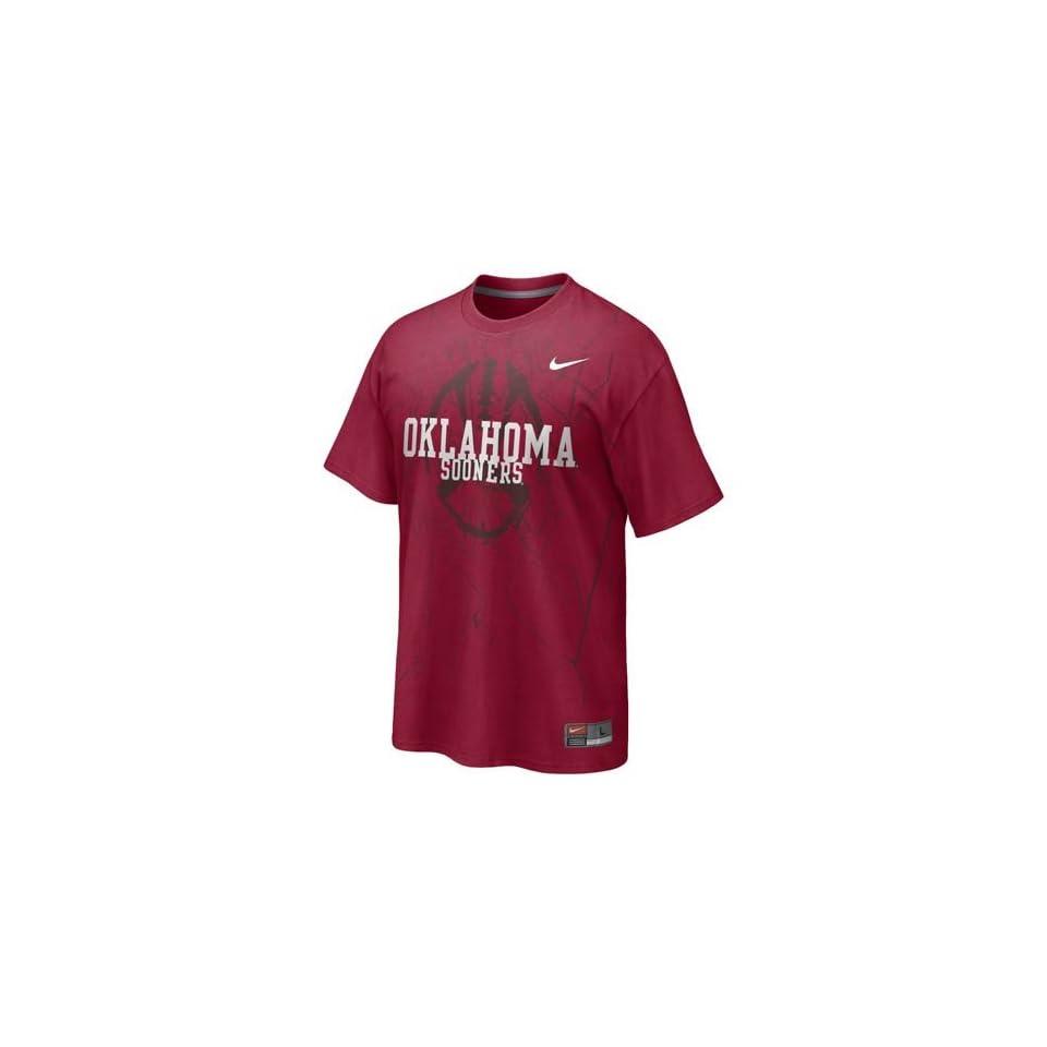 Oklahoma Sooners NCAA Practice T Shirt (Red)