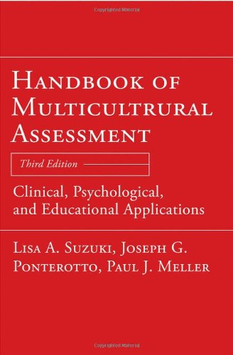 Handbook of Multicultural Assessment: Clinical,...