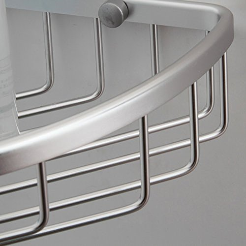 KES A4021A Tub And Shower Large Corner Basket Wall Mount Aluminum Home Garde