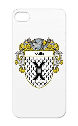 Mills Coat Of Arms Mantled Tpu White For Iphone 5/5S Name Irish Countries Flags Last Family Crest Celtic Wales Surname Scotland Heritage Ireland England Gaelic Shield Mills Cities Ancestry Case front-287556